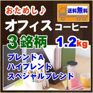 オフィスコーヒーおためし【1.2kg】送料無料