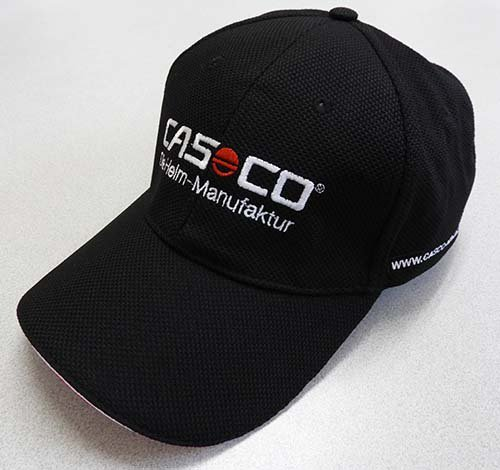 CASCO ベースボールキャップ(ソフトメッシュ)