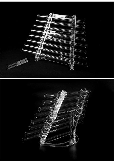 【予約販売】432hz クリスタルハープ(Crystal Harp)