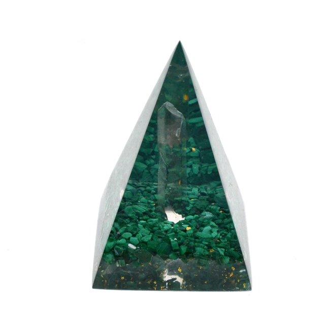 マラカイトヒーリングピラミッド