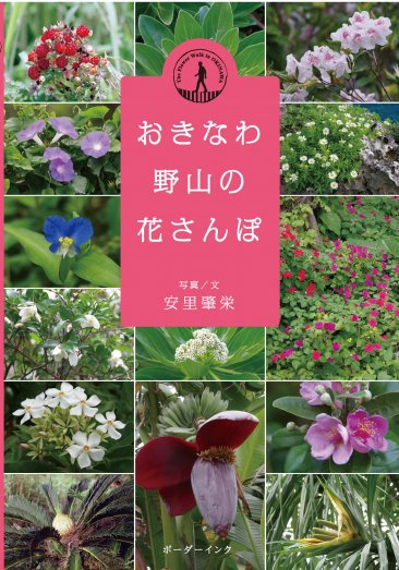 『おきなわ野山の花さんぽ』写真/文 安里肇栄