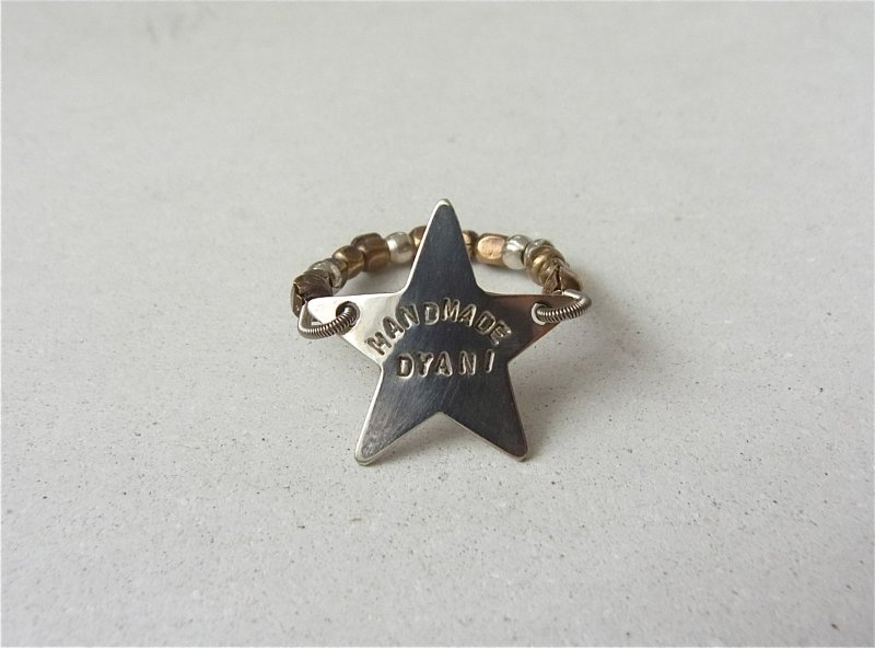 【DYANI】(ディアニ) SHINE SILVER STAR BEADS RING