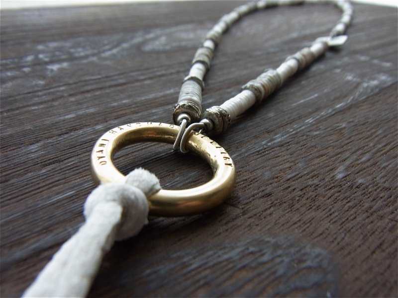 【DYANI】(ディアニ) NO WAVE NO LIFE / Sunglasses Cord Necklace