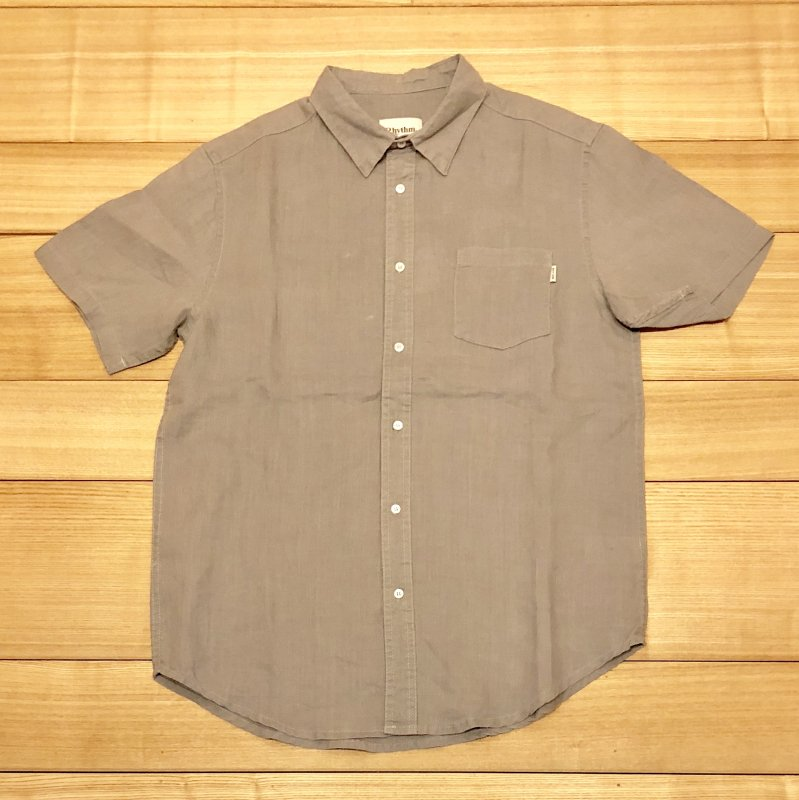 【RHYTHM】(リズム)APARTMENT SS SHIRT JUL18M-WT03