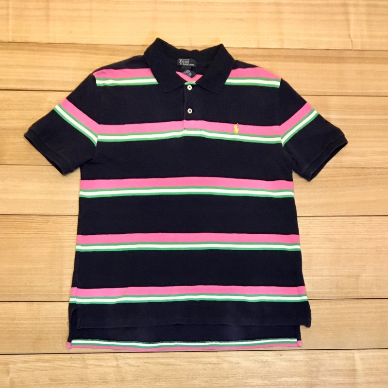 【USED】(ユーズド)POLO by Ralph Lauren 半袖 ポロシャツ 180601R1