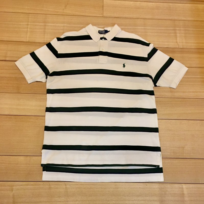 【USED】(ユーズド)POLO by Ralph Lauren 半袖 ポロシャツ 180601R2