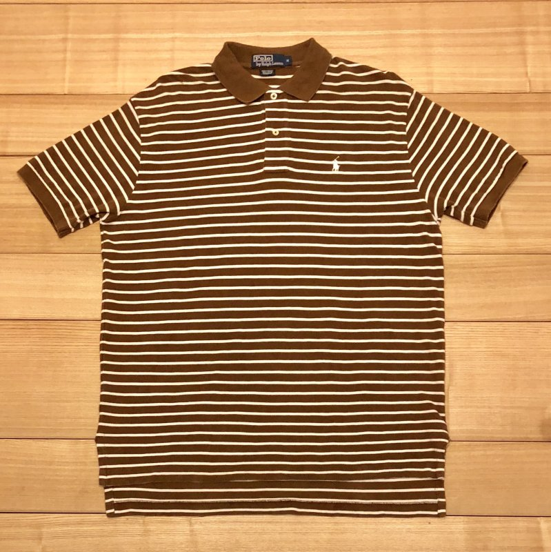 【USED】(ユーズド)POLO by Ralph Lauren 半袖 ポロシャツ 180602R1