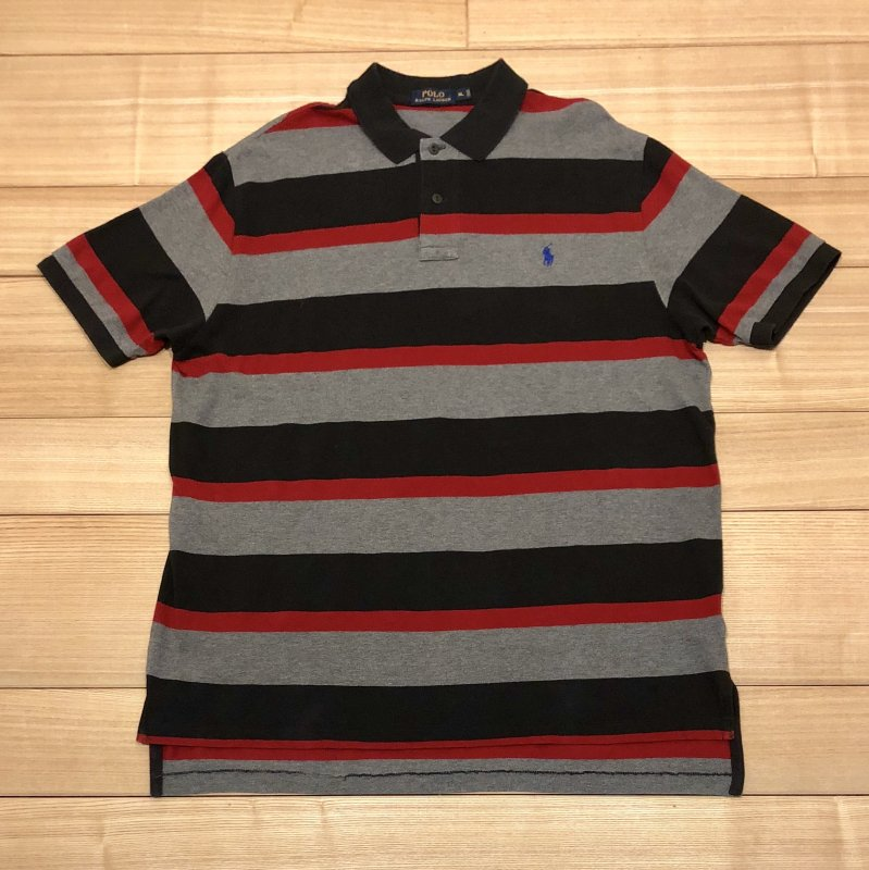 【USED】(ユーズド)POLO by Ralph Lauren 半袖 ポロシャツ 180602R3
