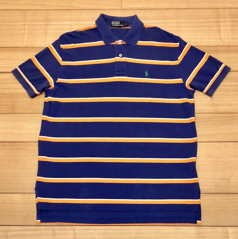 【USED】(ユーズド)POLO by Ralph Lauren 半袖 ポロシャツ 180602R5