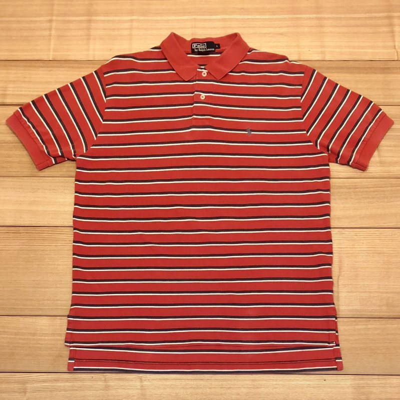 【USED】(ユーズド)POLO by Ralph Lauren 半袖 ポロシャツ 180602R8