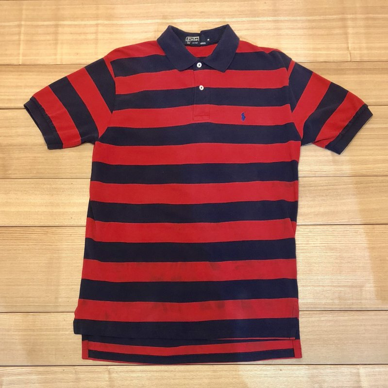 【USED】(ユーズド)POLO by Ralph Lauren 半袖 ポロシャツ 180602R9