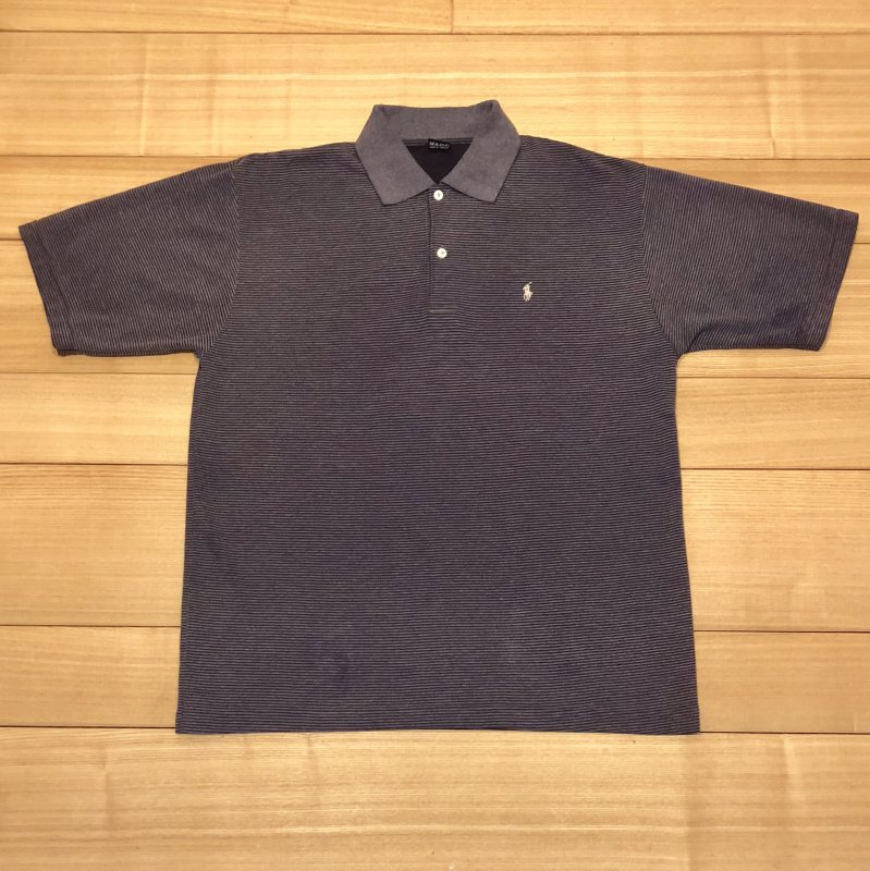 【USED】(ユーズド)POLO by Ralph Lauren 半袖 ポロシャツ 180602R10
