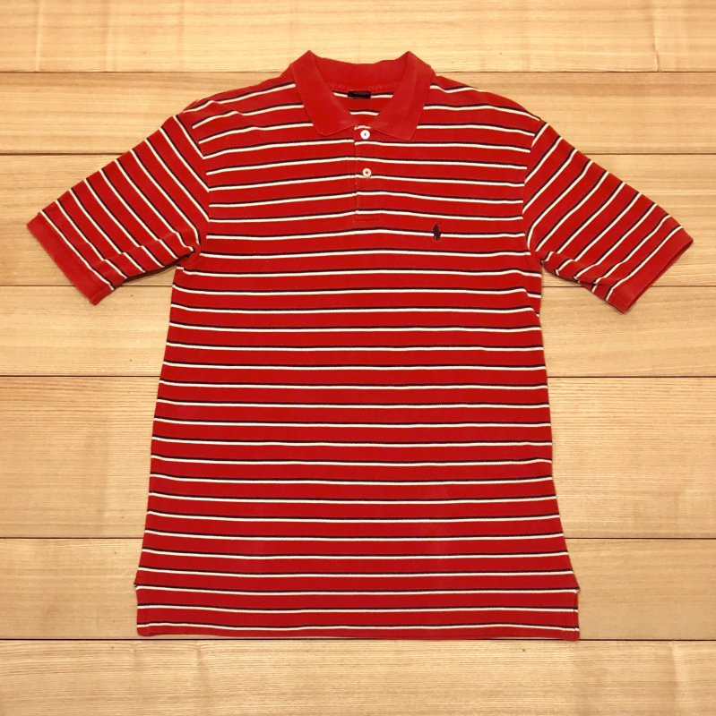 【USED】(ユーズド)POLO by Ralph Lauren 半袖 ポロシャツ 180603R1