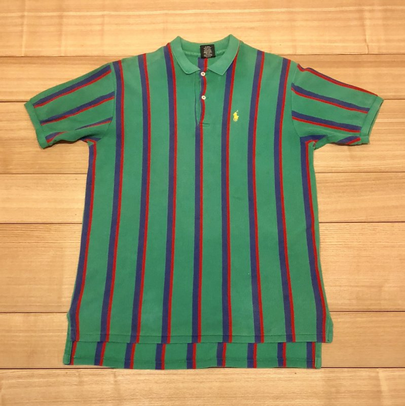 【USED】(ユーズド)POLO by Ralph Lauren 半袖 ポロシャツ 180603R2