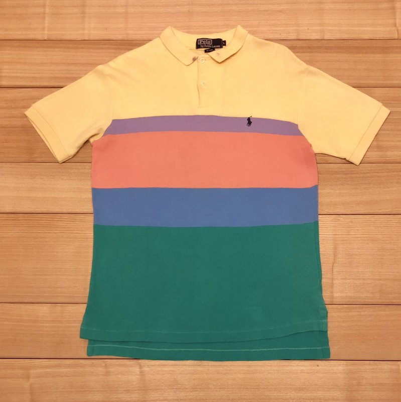 【USED】(ユーズド)POLO by Ralph Lauren 半袖 ポロシャツ 180603R3