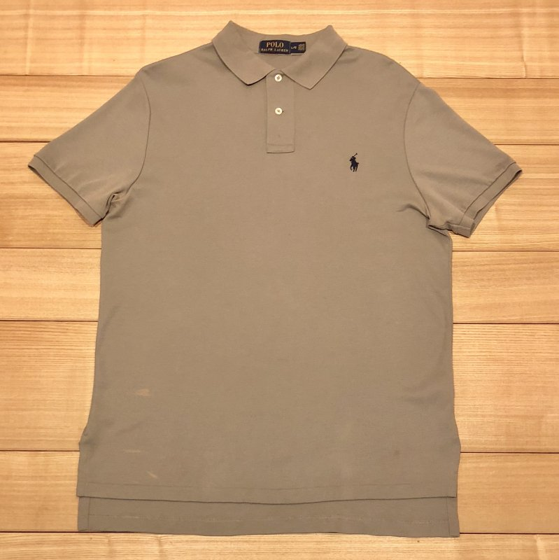 【USED】(ユーズド)POLO by Ralph Lauren 半袖 ポロシャツ 180603R6