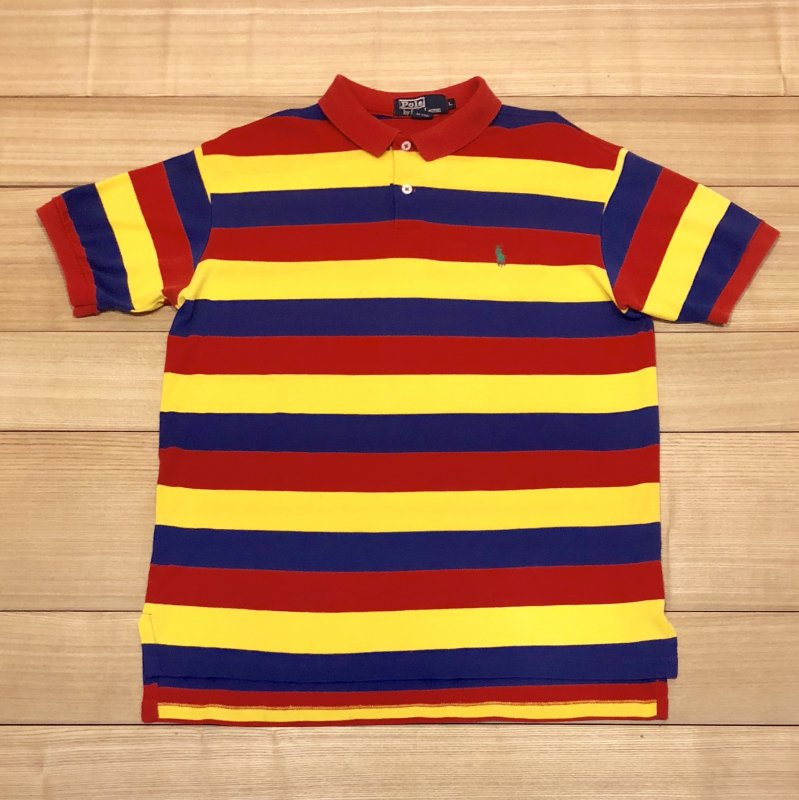 【USED】(ユーズド)POLO by Ralph Lauren 半袖 ポロシャツ 180603R9