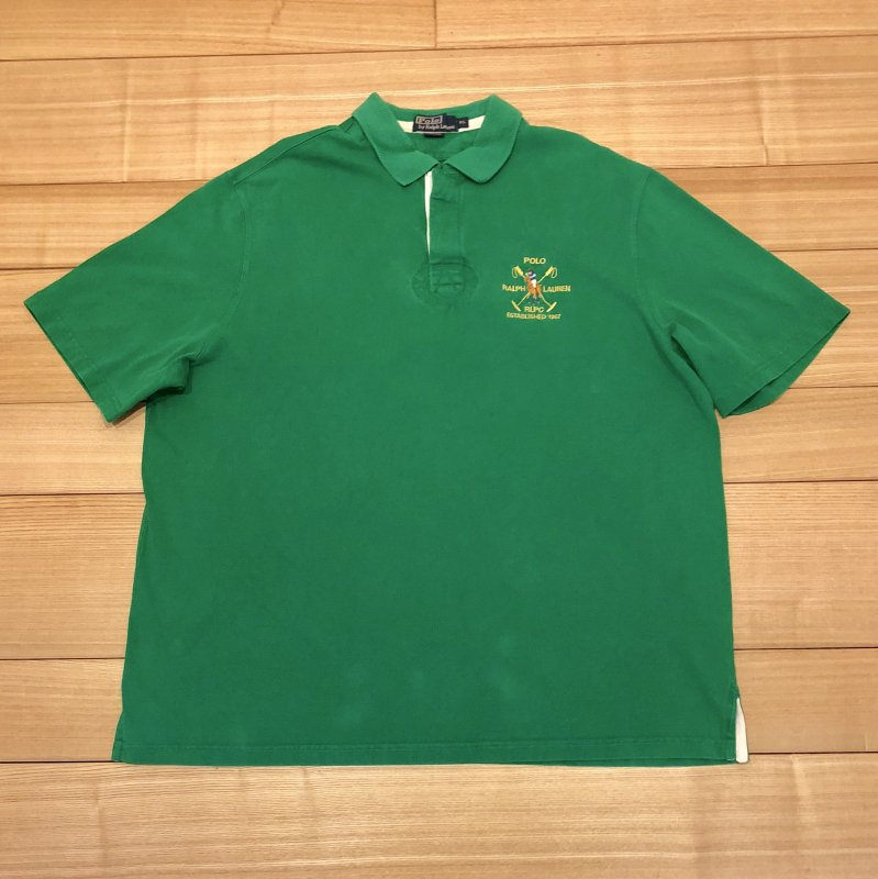 【USED】(ユーズド)POLO by Ralph Lauren 半袖 ポロシャツ 180603R10