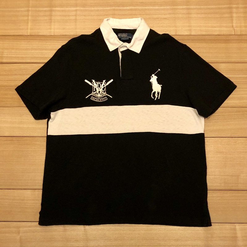【USED】(ユーズド)POLO by Ralph Lauren 半袖 ポロシャツ 180621R6