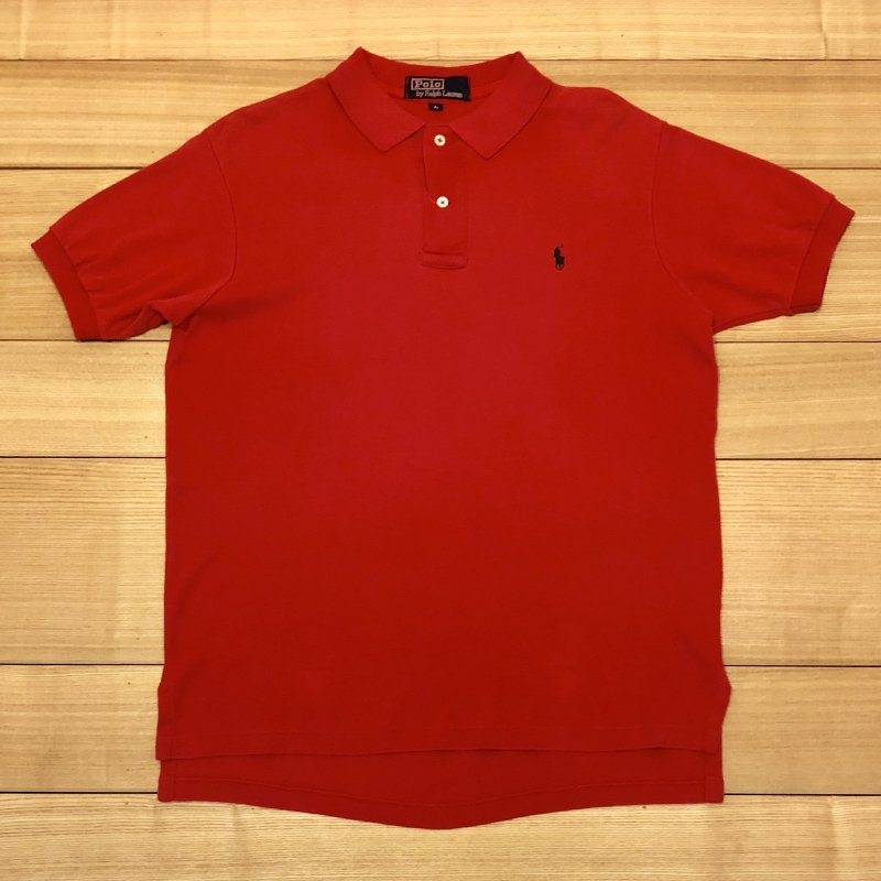 【USED】(ユーズド)POLO by Ralph Lauren 半袖 ポロシャツ 180621R8