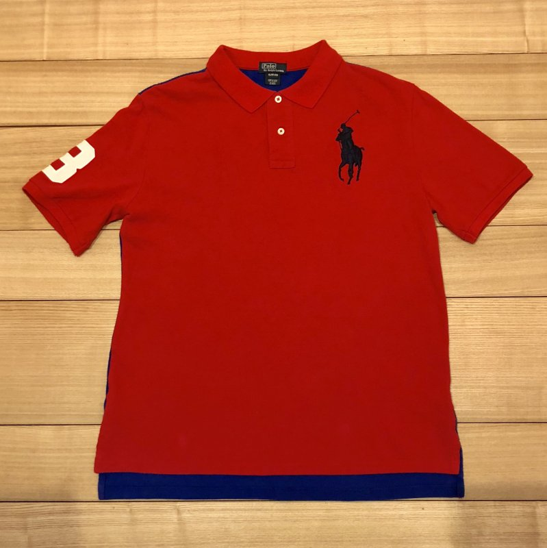 【USED】(ユーズド)POLO by Ralph Lauren 半袖 ポロシャツ 180621R9