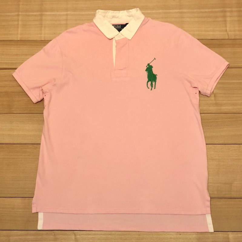 【USED】(ユーズド)POLO by Ralph Lauren 半袖 ポロシャツ 180621R10