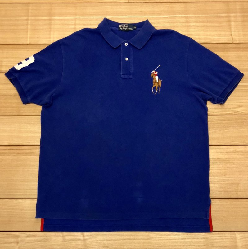 【USED】(ユーズド)POLO by Ralph Lauren 半袖 ポロシャツ 180621R11