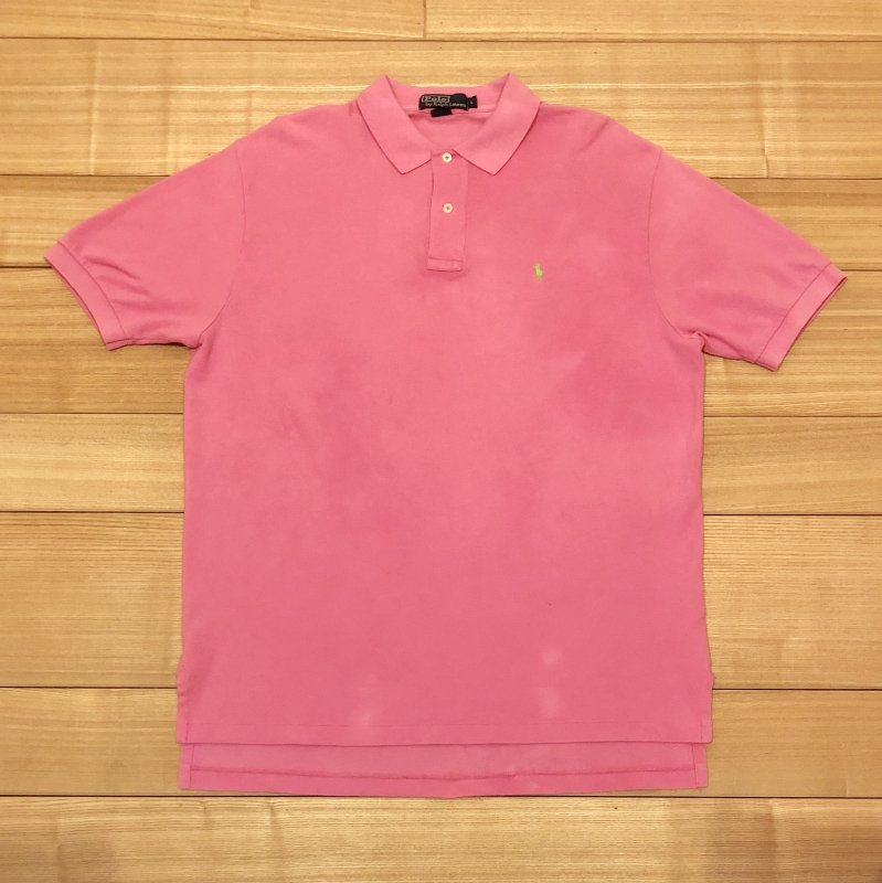 【USED】(ユーズド)POLO by Ralph Lauren 半袖 ポロシャツ 180621R12