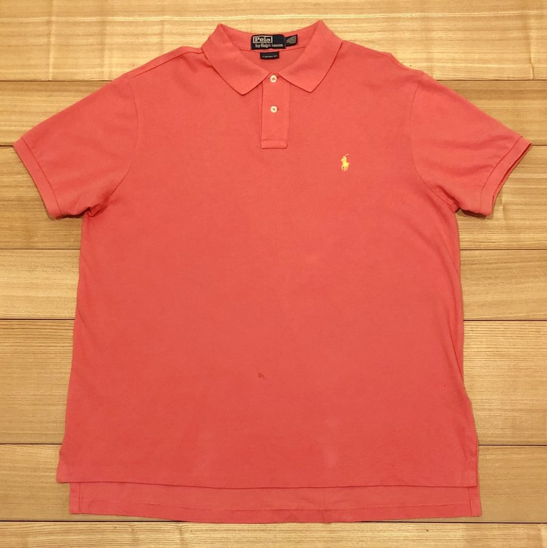 【USED】(ユーズド)POLO by Ralph Lauren 半袖 ポロシャツ 180630R2
