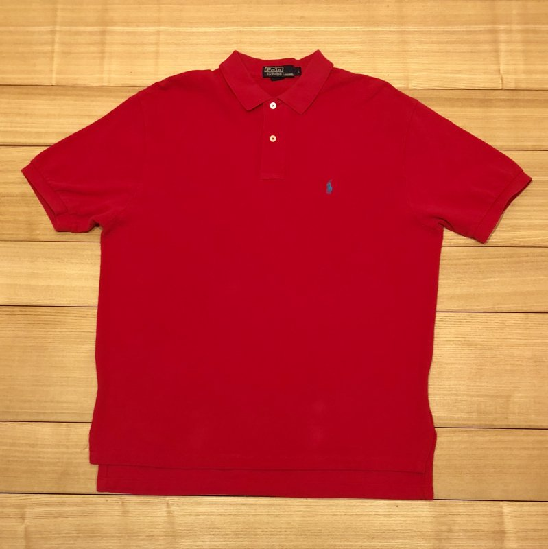 【USED】(ユーズド)POLO by Ralph Lauren 半袖 ポロシャツ 180630R3