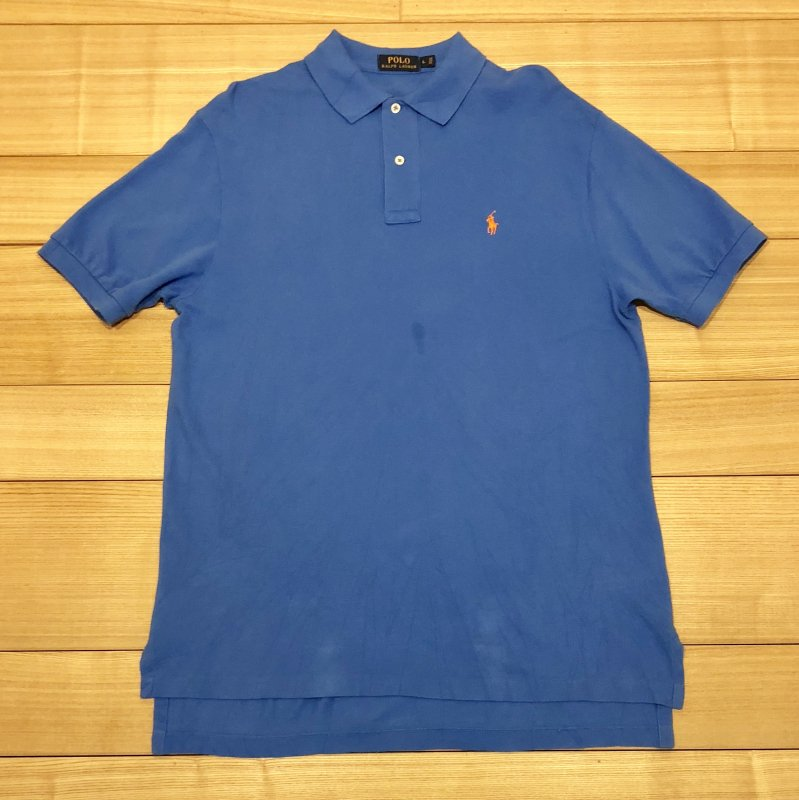【USED】(ユーズド)POLO by Ralph Lauren 半袖 ポロシャツ 180630R6