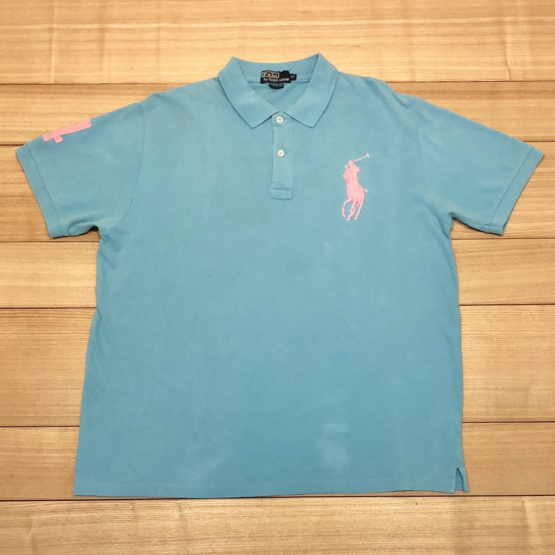 【USED】(ユーズド)POLO by Ralph Lauren 半袖 ポロシャツ 180630R8