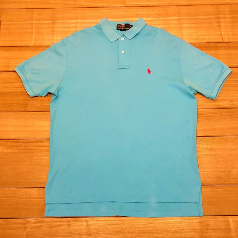 【USED】(ユーズド)POLO by Ralph Lauren 半袖 ポロシャツ 180630R9