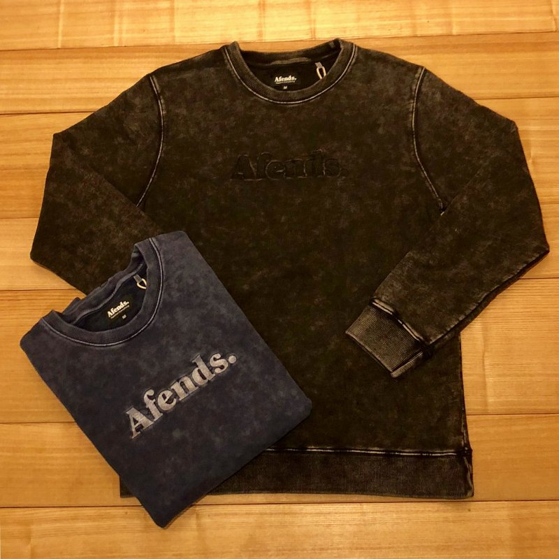 30%OFF【AFENDS】(アフェンズ)Afends Dot トレーナー 18C9011