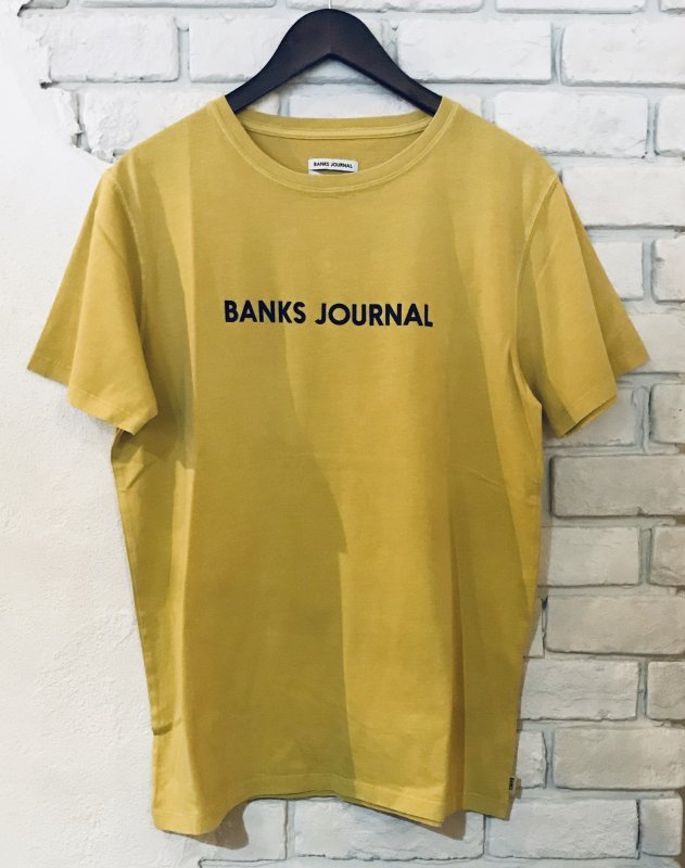 【BANKS】(バンクス)LABEL TEE SHIRT Tシャツ ATS0332