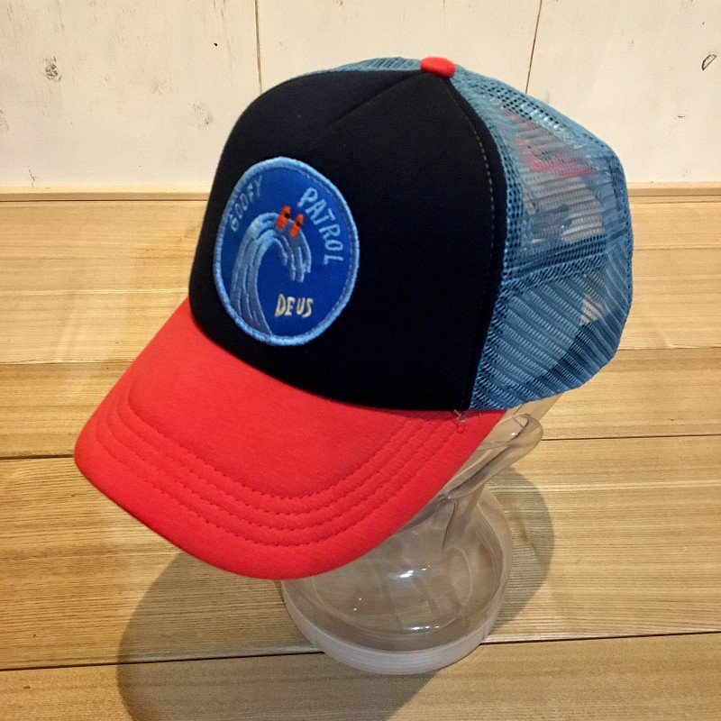 【DEUS EX MACHINA】(デウスエクスマキナ)T-RIENDLY WAVES TRUCKER CAP キャップ DMS87689