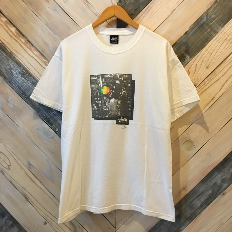 USED【STUSSY】(ステューシー) 00s Old Stussy POSITIVE S/S Tee ステューシー Tシャツ