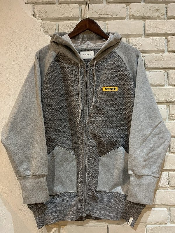 30%OFF【TCSS】(ティーシーエスエス)critical slide EAZZY KNIT IV ZIP PARKA セットアップ パーカー EAZ1901