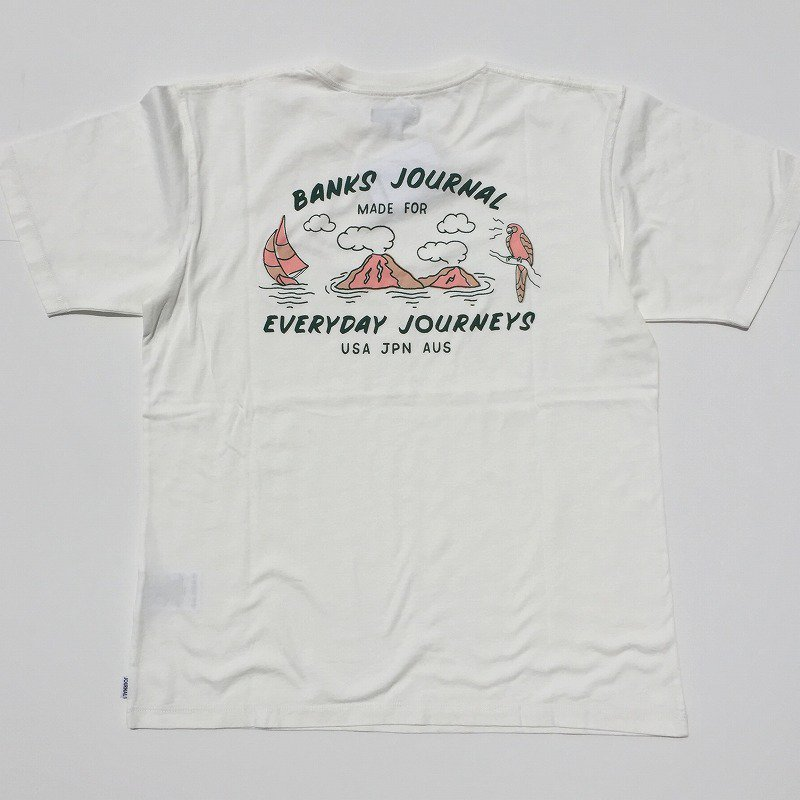 30%off【BANKS】(バンクス)SEASHORE BANKS TEE SHIRT 半袖 Tシャツ ATS0488