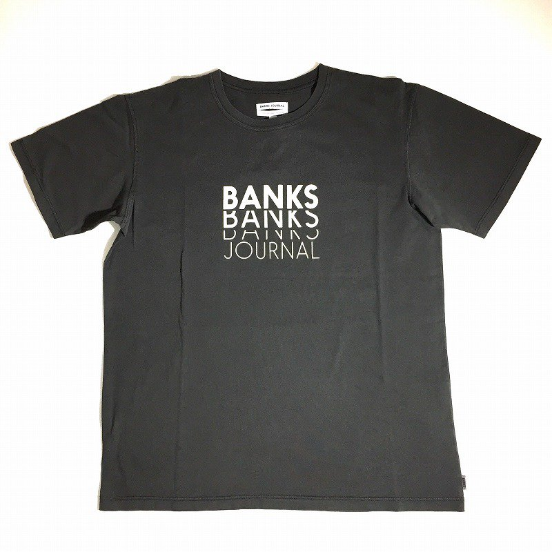 30%OFF【BANKS】(バンクス)REPEAT BANKS TEE SHIRT 半袖 Tシャツ ATS0490
