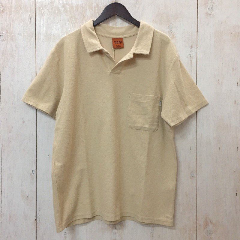 21SS【RHYTHM】(リズム)VINTAGE TERRY POLO S/S 半袖 ポロシャツ 0106321SP251