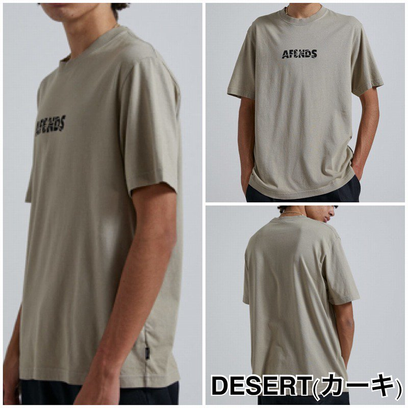 21SS【AFENDS】(アフェンズ) Noise Tシャツ M213013