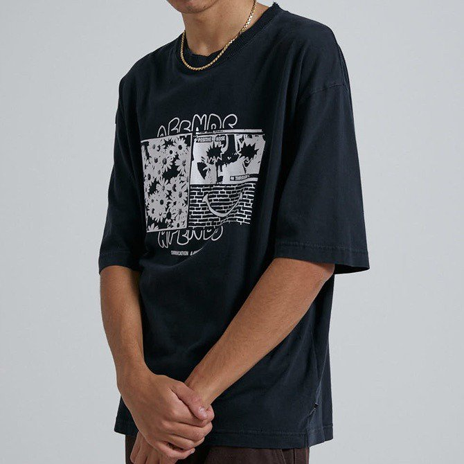 21SS【AFENDS】(アフェンズ) Positive Noise Tシャツ M213011
