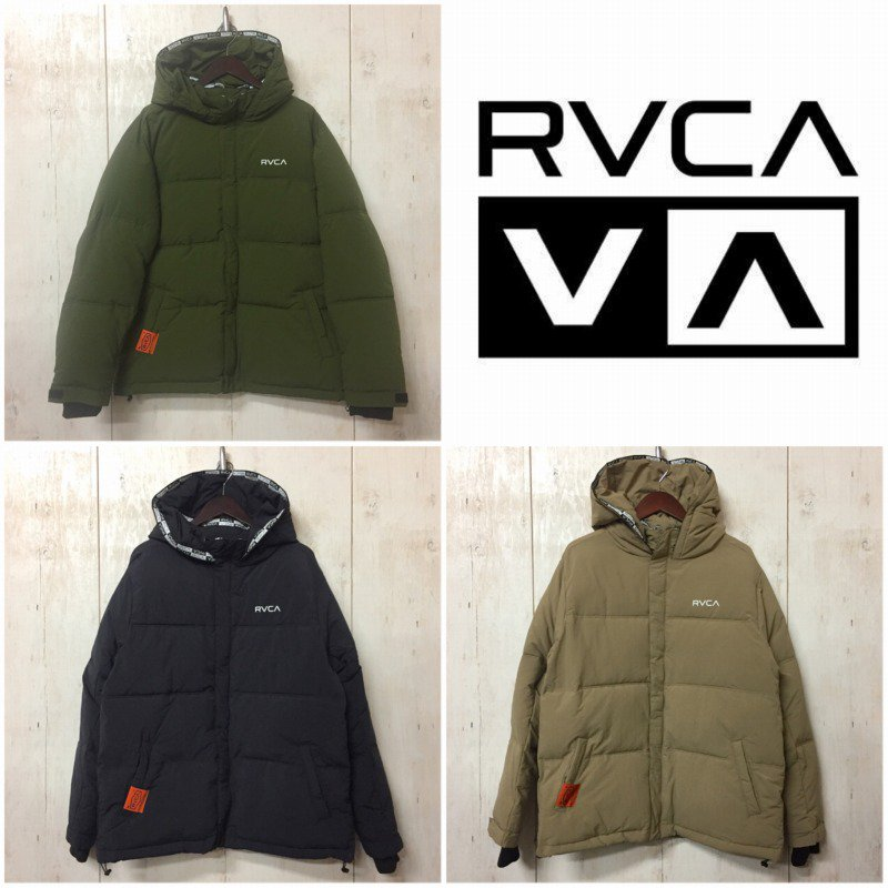 <img class='new_mark_img1' src='https://img.shop-pro.jp/img/new/icons5.gif' style='border:none;display:inline;margin:0px;padding:0px;width:auto;' />21AW【RVCA】(ルーカ)メンズ BACK RVCA 中綿 JACKET ジャケット BB042765