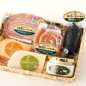牧場チーズ・バターとミートセット(ME-8)