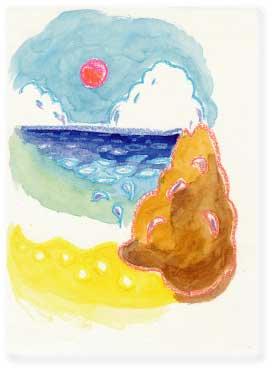 潮満るアーサ海岸 |コウサカワタル|三線ダブMUSIC