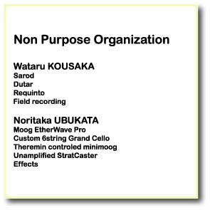 Non Purpose Organization |コウサカワタル|三線ダブMUSIC