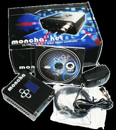 ■Fiesta.NETとの互換性を実現■Moncha.net Master■LANケーブル利用可能、DMX可能、レーザージョッキーLJソフト