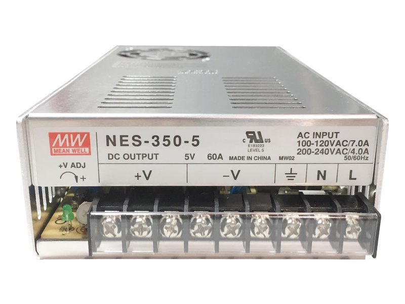 ■MEAN WELL(ミンウェル)■NES-350-5 電源■300W 5V 60A