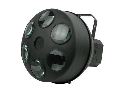 ■値下げ■LEDエフェクトライト 小型LEDが赤88個 緑48個 青88個 合計9W相当搭載 オート、サウンド、DMX制御可能